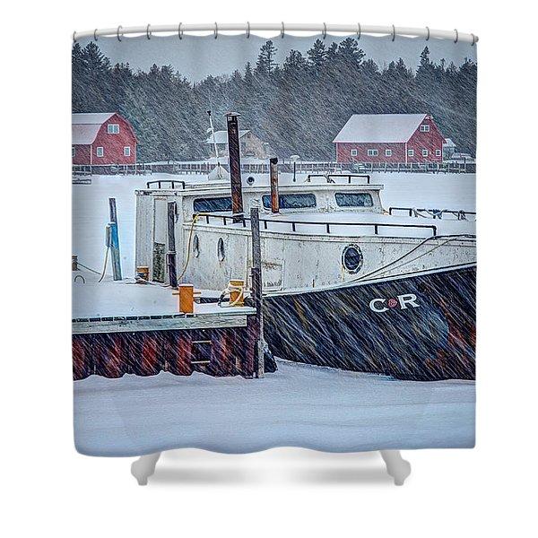 Cr Tug Shower Curtain