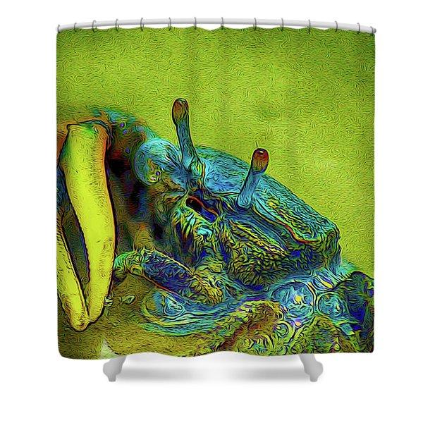 Crab Cakez 2 Shower Curtain