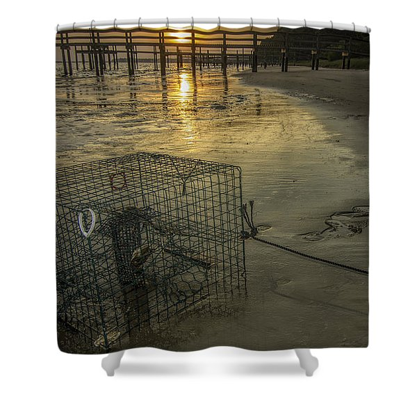 Crabtrap At Dusk Shower Curtain