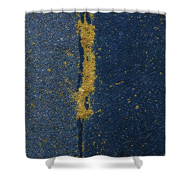 Cracked #4 Shower Curtain