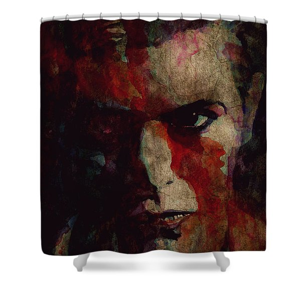 Cracked Actor Shower Curtain