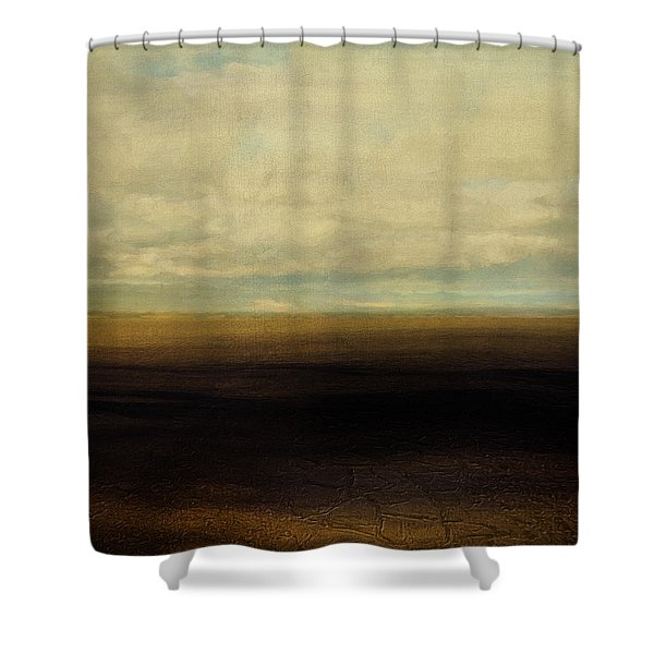 Cracked Desert Shower Curtain