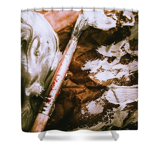 Craft And Arts Shower Curtain