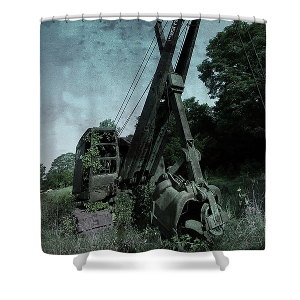 Crane Shower Curtain