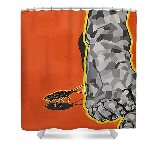 Crawl Shower Curtain