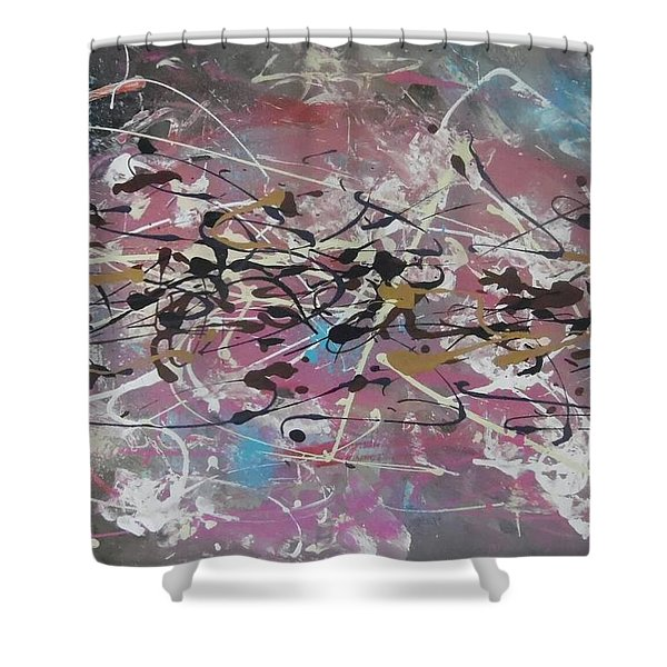 Crazy Afternoon Shower Curtain