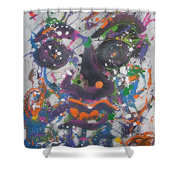 Crazy Day Shower Curtain