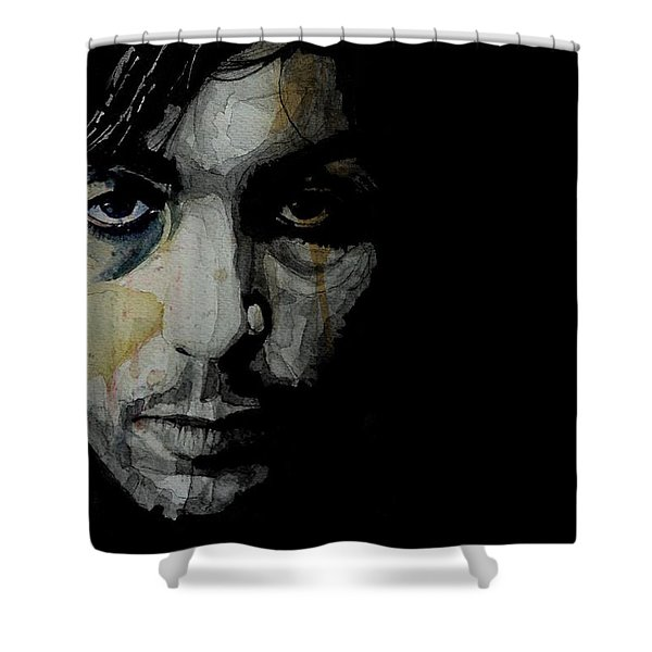 Crazy Diamond - Syd Barrett  Shower Curtain
