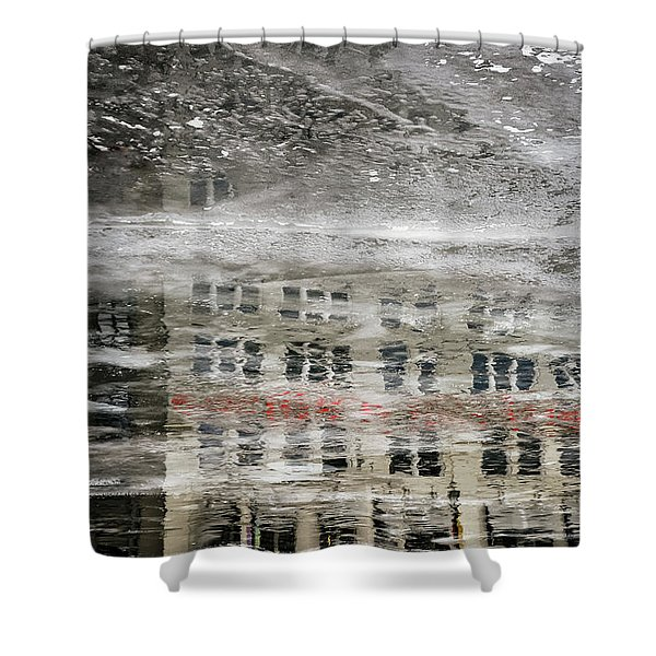 Cream City Cold Shower Curtain