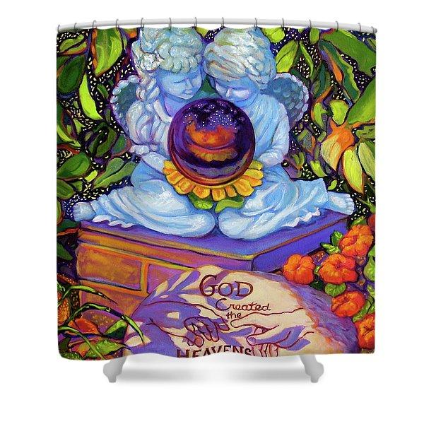 Garden Wisdom 1-creation Shower Curtain