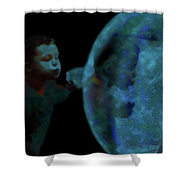 Creation Of The Bubble Shower Curtain