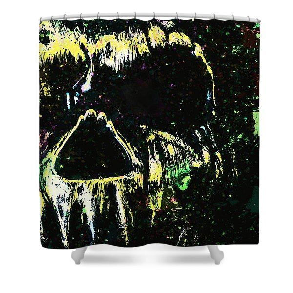 Creative Disorder Shower Curtain