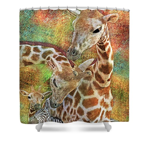 Creatures Great And Small Shower Curtain