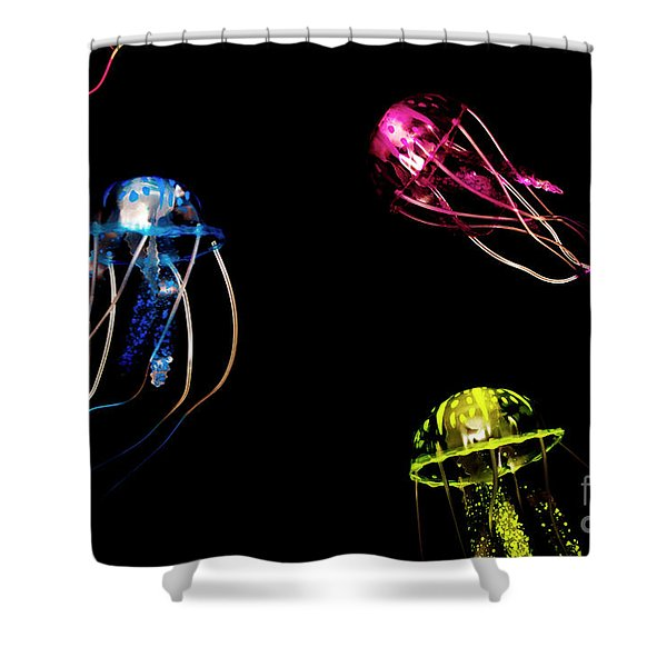Creatures Of The Deep Shower Curtain