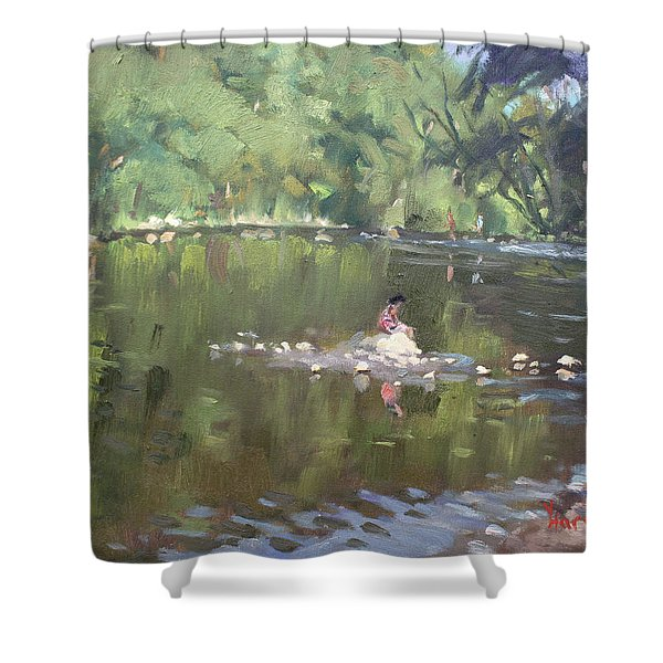 Credit River By Norval On Shower Curtain