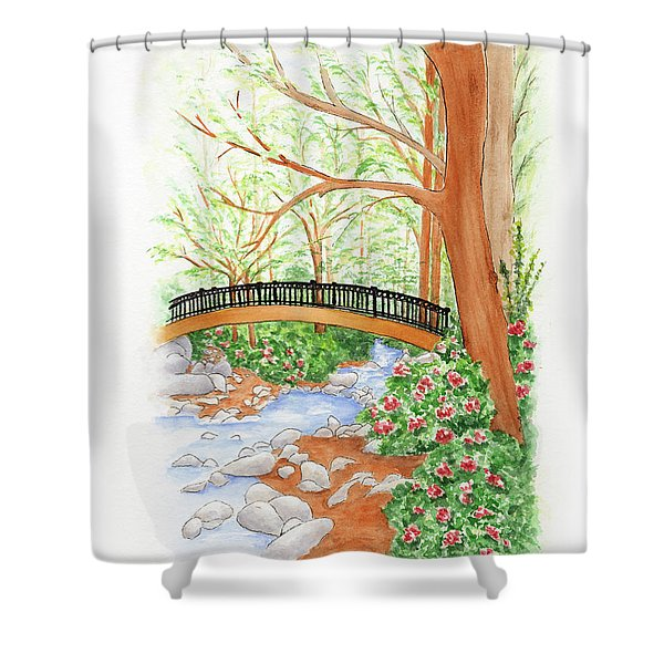 Creek Crossing Shower Curtain