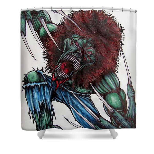 Creeper Shower Curtain