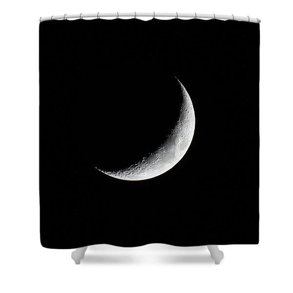 Crescent Moon Shower Curtain