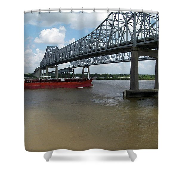Cresent City Connection Shower Curtain