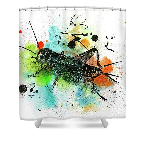 Cricket Shower Curtain