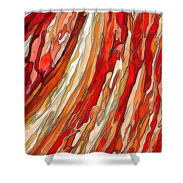 Crimson Tide Shower Curtain