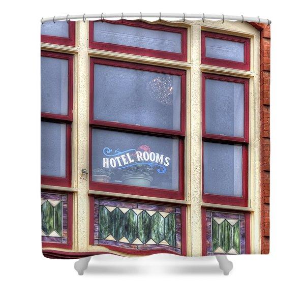 Cripple Creek Hotel Rooms 7880 Shower Curtain
