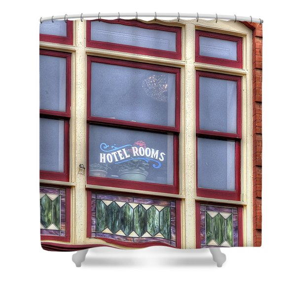 Cripple Creek Hotel Rooms 7880 Shower Curtain