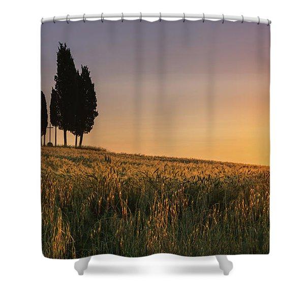 Croce Di Prata Shower Curtain
