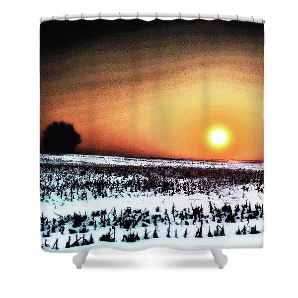 Crops In Shower Curtain