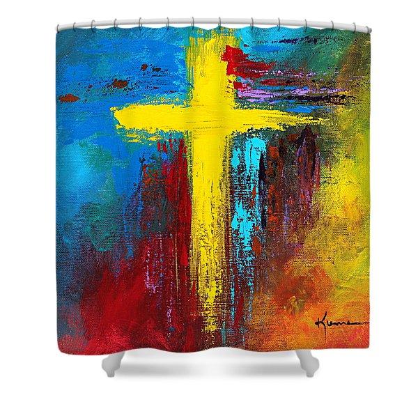 Cross No.2 Shower Curtain