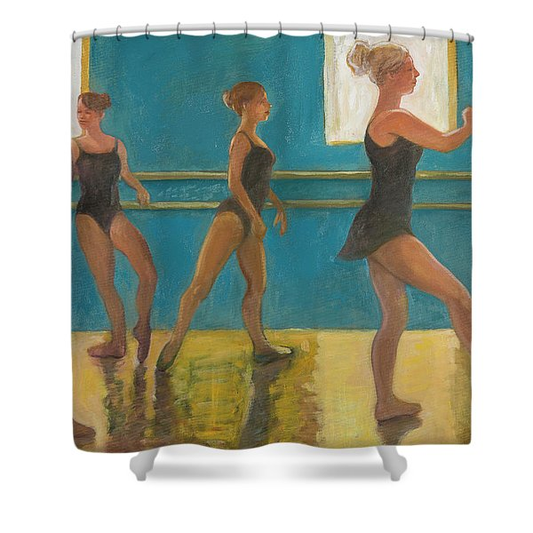 Crossing The Floor Shower Curtain