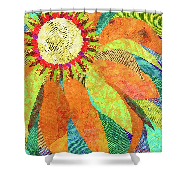 Crown Of Petals Shower Curtain