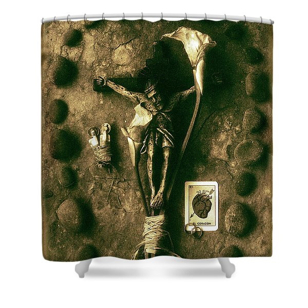 Crucifix, The Loss Shower Curtain