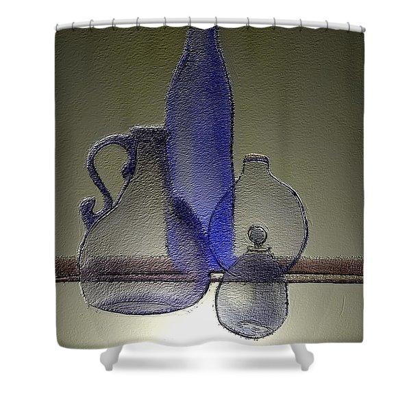 Cruets Shower Curtain