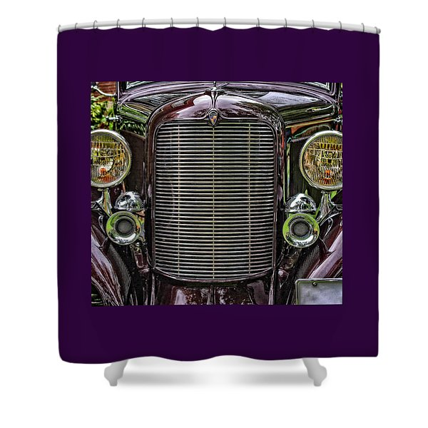 Crusin' With A 32 Desoto Shower Curtain