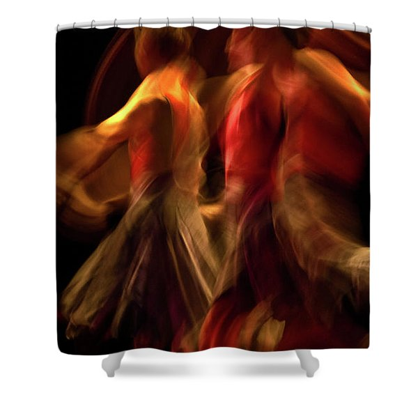 Shower Curtain featuring the photograph Crychord 10 by Catherine Sobredo