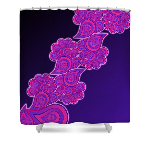 Crying Cotton Candy Shower Curtain