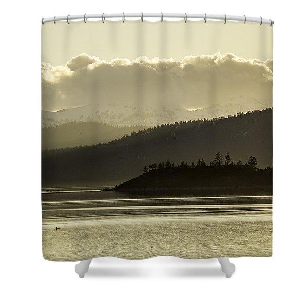 Crystal Kayak Shower Curtain