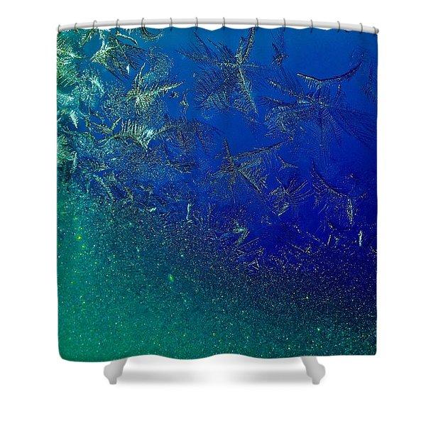 Crystal Sea Shower Curtain