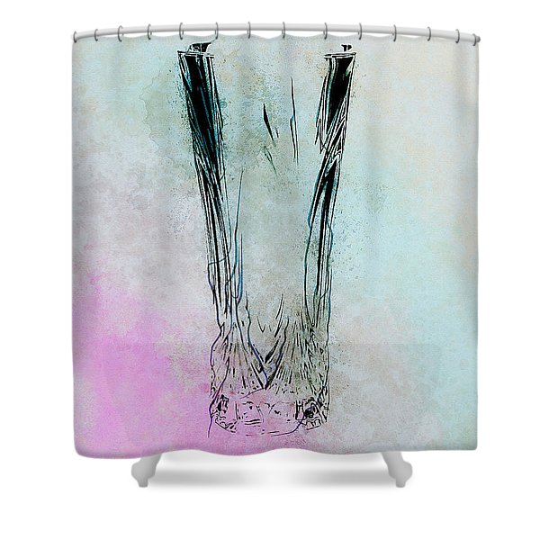 Crystal Vase Shower Curtain