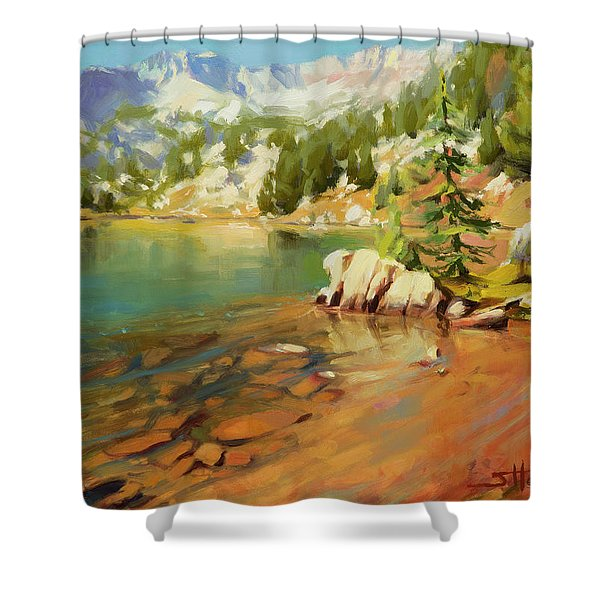 Crystalline Waters Shower Curtain