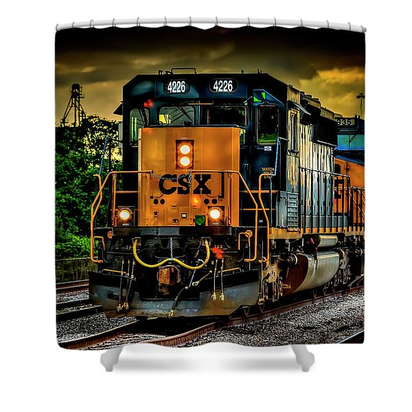 Csx 4226 Shower Curtain