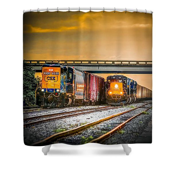Csx Two For One Shower Curtain