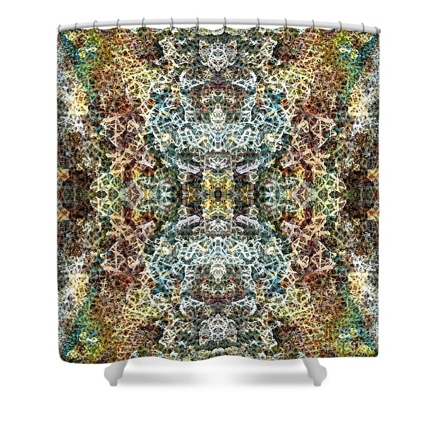 Contexual 1 Shower Curtain