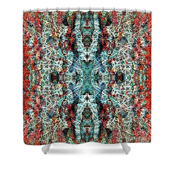 Contexual 2 Shower Curtain
