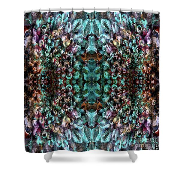 Contexual 3 Shower Curtain