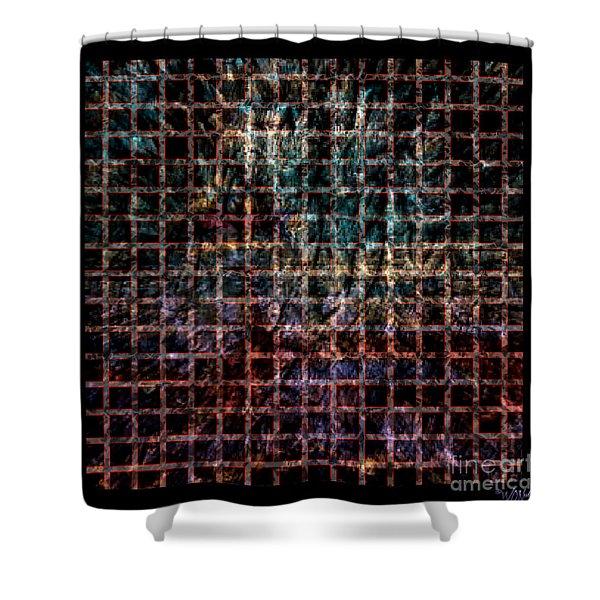 Grid Series 3-1 Shower Curtain