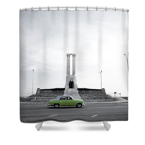 Cuba #1 Shower Curtain