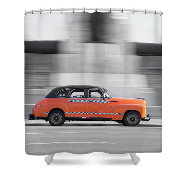 Cuba #2 Shower Curtain