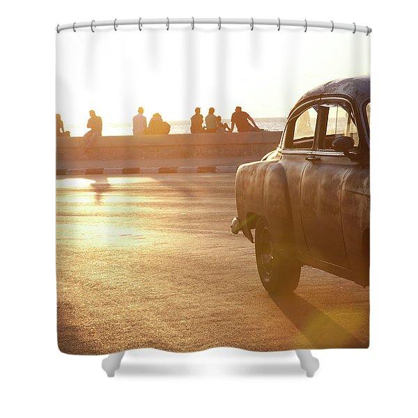 Cuba #4 Shower Curtain